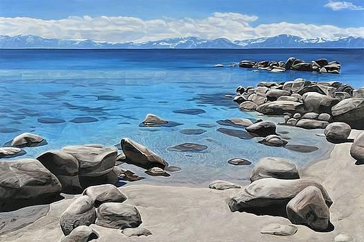 Tahoe Shoreline by Carina Mascarelli