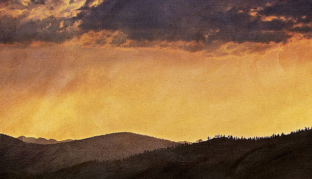 Tahoe Sunset by John Hamlon