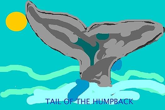 Tail of the Humpback by Dawna Raven Sky
