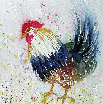 Tail Up Rooster by Donlyn Arbuthnot
