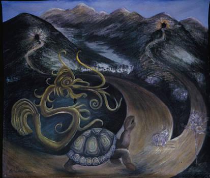 Taino Eve Creation Myth by Barbara Nesin