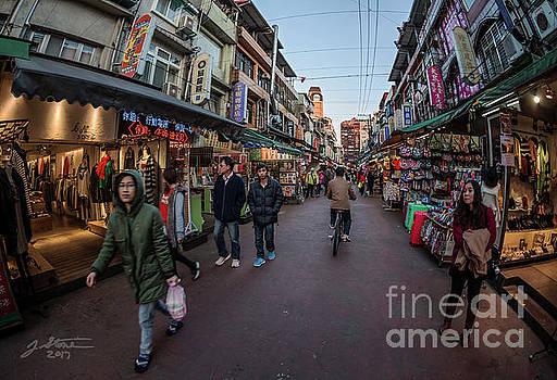 Taipei Night Market by Jeffrey Stone