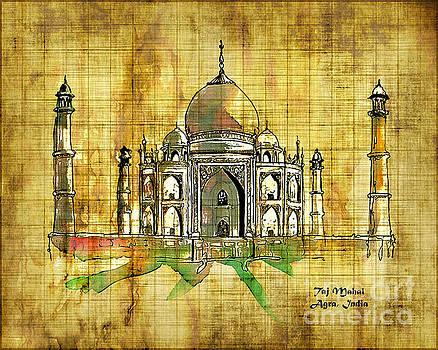 Kathryn Strick - Taj Mahal 2016