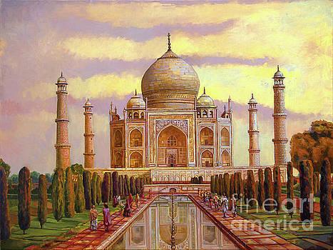 Taj Mahal by Dominique Amendola