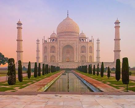Taj Mahal  by Ken Aaron