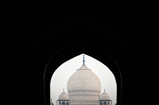 Taj Mahal Mosque View IIII by Erika Gentry