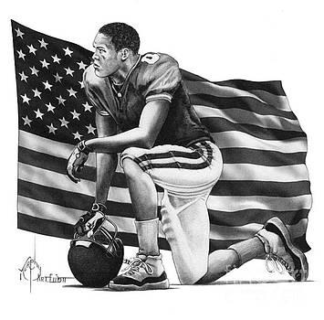 Take a knee for America by Murphy Elliott