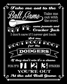Ginny Gaura - Take Me Out To The Ball Game - Dodgers