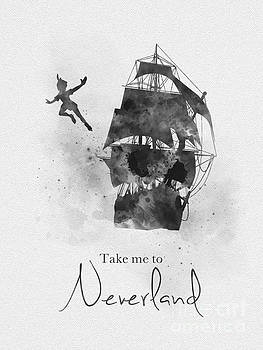 Take me to Neverland Black and White by My Inspiration