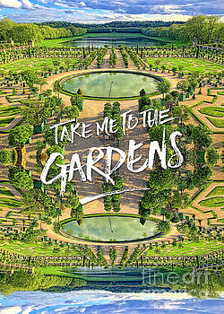 Beverly Claire Kaiya - Take Me to the Gardens Versailles Palace France