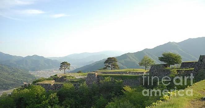 Takeda Castle By Taikan by Taikan Nishimoto