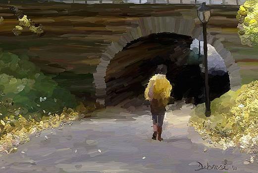 Taking A Stroll by Deborah Rosier
