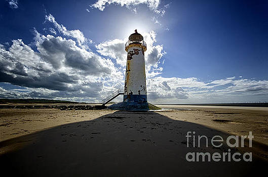 Talacre lighthouse by Steev Stamford