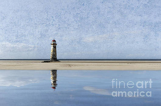 Talacre reflected by Steev Stamford