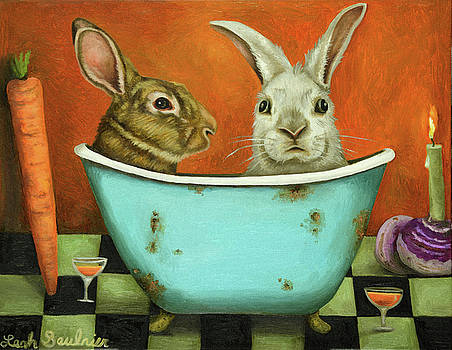 Leah Saulnier The Painting Maniac - Tale Of Two Bunnies