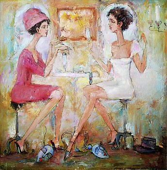 Talk by Oleg Poberezhnyi
