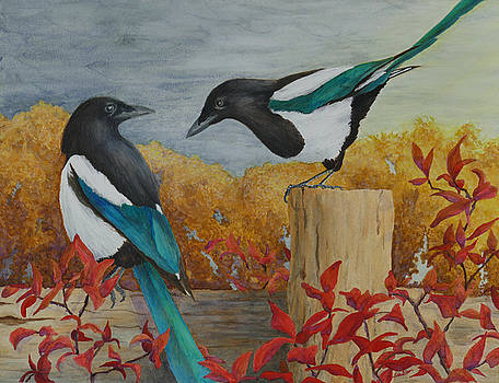 Talkin' 'Bout the Weather by Lisa Gibson Art