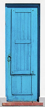 Tall Blue Door by David Letts