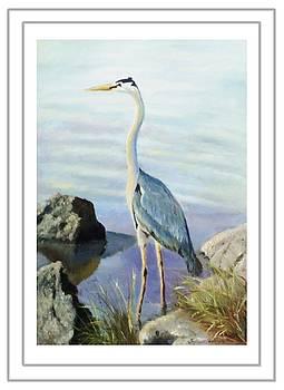 Tall Fellow Art Card by Harriett Masterson