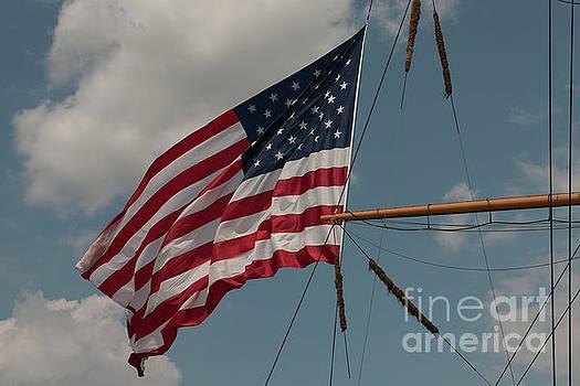 Dale Powell - Tall Ship Flag I