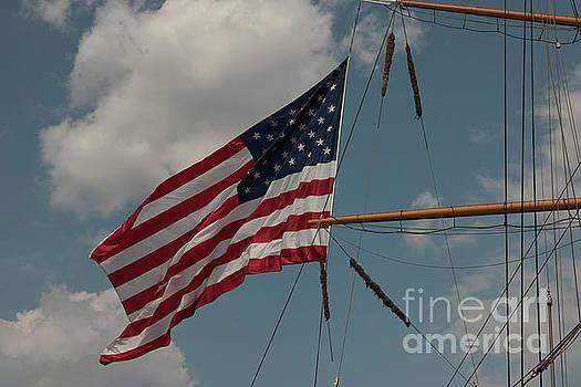 Dale Powell - Tall Ship Flag III