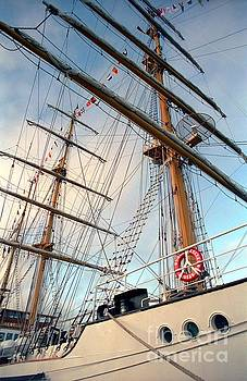 Tall Ship Guayas by James B Toy