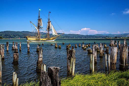 Tall Ship Lady Washington by Robert Bynum