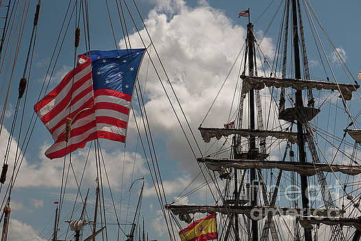 Tall Ship Old Glory  by Dale Powell