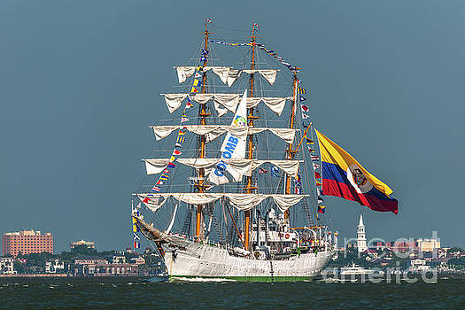 Tall Ship Sailing out of Charleston SC by Dale Powell