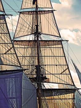 Kathryn Strick - Tall Ship Sails I