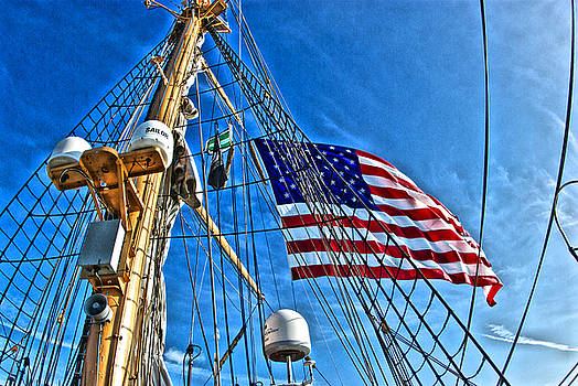 Tall Ships 4 by Perry Frantzman
