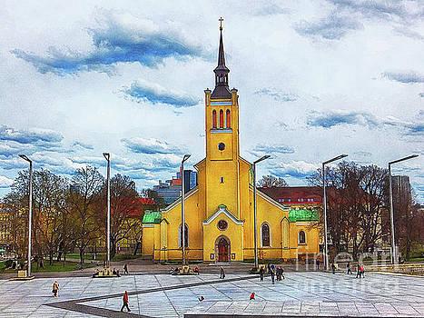 Tallinn art 5  by Justyna JBJart