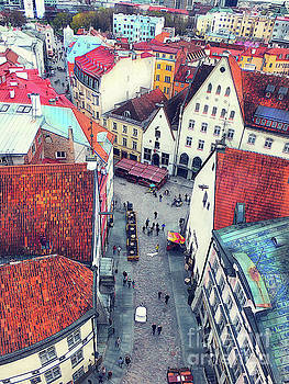 Tallinn art 6  by Justyna JBJart