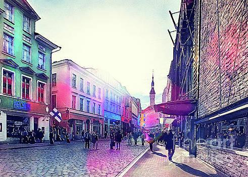 Tallinn art 9  by Justyna JBJart