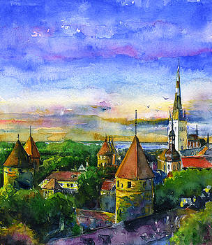 Tallinn Estonia by John D Benson