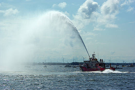 Tampa Fire Rescue Boat by Paul Wash