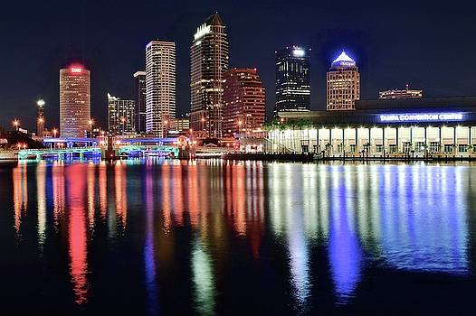 Frozen in Time Fine Art Photography - Tampa in Vivid Radiant Color