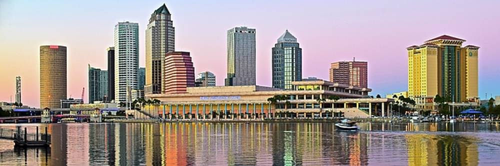 Frozen in Time Fine Art Photography - Tampa Stretches out at Dusk