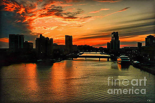 Tampa Sunset by Hanny Heim