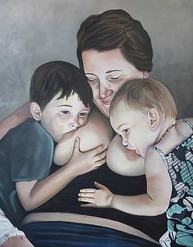 Tandem Nursing by Miriel Smith