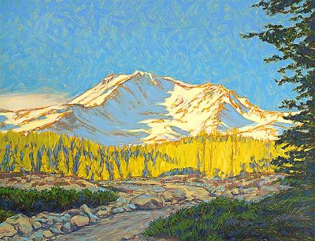 Taneyhill Mt. Shasta by Tom Taneyhill