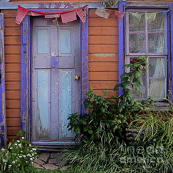Tangerine Cottage by Nancy Yuskaitis