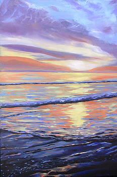 Tangerine Sunset  by Mackenzie Matthews