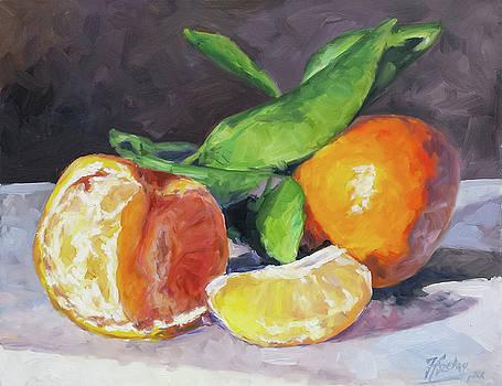 Tangerines by Irek Szelag