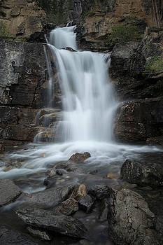 Tangle Creek Falls, Alberta, Canada by David Stanley