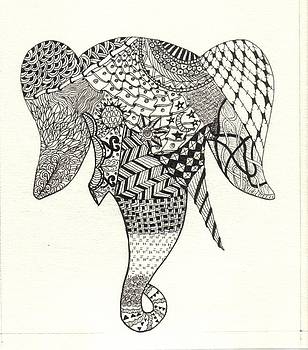 Tangled Elephant by Ekta Gupta
