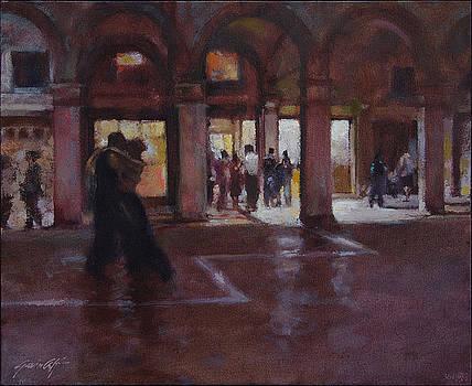 Tango at Rialto Venice by Gavin Calf