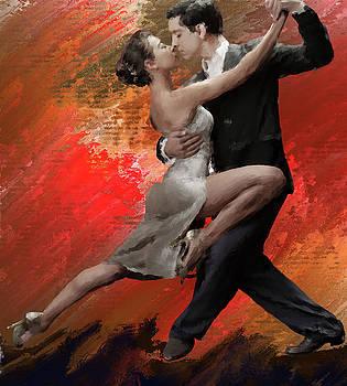 Tango Dance Study by Brian Tones
