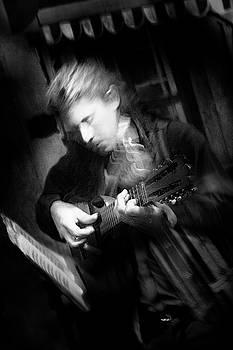 Tango Guitarist by David Chasey