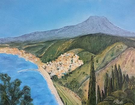 Taormina, Sicily by Judy Jones